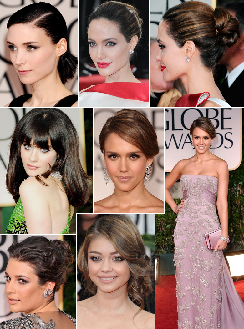 The Golden Globes 2012
