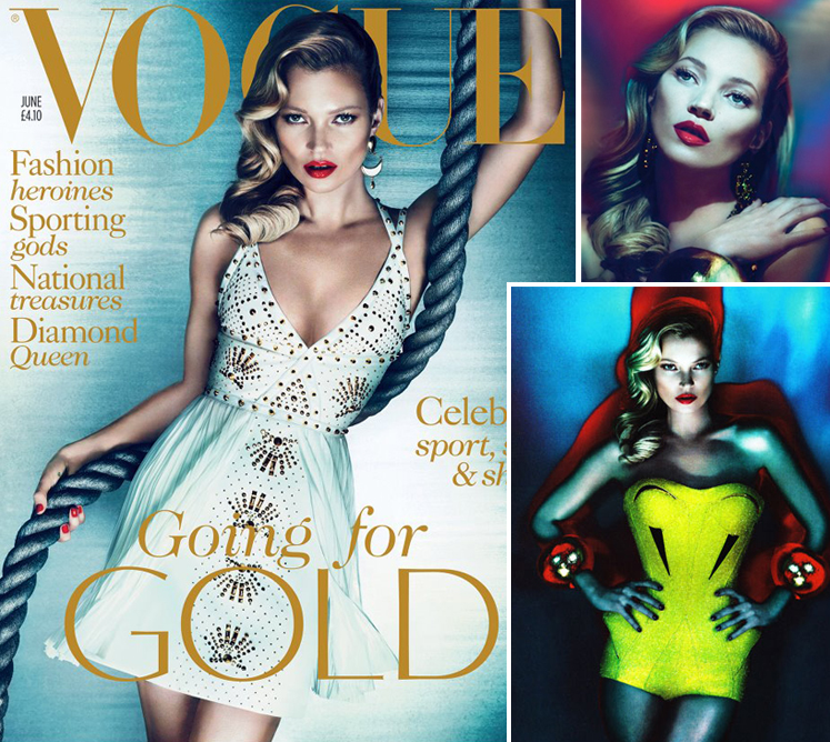 Kate Moss Vogue June 2012